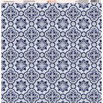 Ella and Viv Paper Company - Deep Blue Mosaic Collection - 12 x 12 Paper - Seven