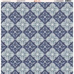 Ella and Viv Paper Company - Deep Blue Mosaic Collection - 12 x 12 Paper - Ten