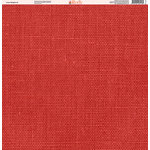 Ella and Viv Paper Company - Linen Brights Collection - 12 x 12 Paper - Two