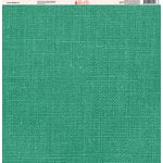 Ella and Viv Paper Company - Linen Brights Collection - 12 x 12 Paper - Seven