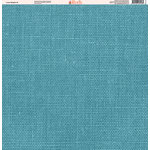 Ella and Viv Paper Company - Linen Brights Collection - 12 x 12 Paper - Nine