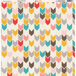 Ella and Viv Paper Company - Because I'm Happy Collection - 12 x 12 Paper - Eleven