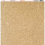 Ella and Viv Paper Company - Glitter FX Collection - 12 x 12 Paper - Five