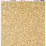 Ella and Viv Paper Company - Glitter FX Collection - 12 x 12 Paper - Twelve