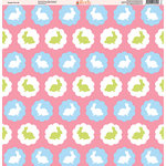 Ella and Viv Paper Company - Easter Fun Collection - 12 x 12 Paper - Nine