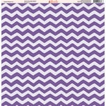 Ella and Viv Paper Company - Purple Passion Collection - 12 x 12 Paper - Five