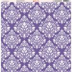Ella and Viv Paper Company - Purple Passion Collection - 12 x 12 Paper - Seven