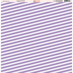 Ella and Viv Paper Company - Purple Passion Collection - 12 x 12 Paper - Eight