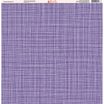 Ella and Viv Paper Company - Purple Passion Collection - 12 x 12 Paper - Ten