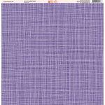 Ella and Viv Paper Company - Purple Passion Collection - 12 x 12 Paper - Ten