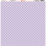 Ella and Viv Paper Company - Purple Passion Collection - 12 x 12 Paper - Twelve