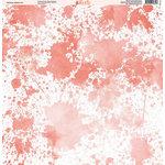 Ella and Viv Paper Company - Rainbow Splash Collection - 12 x 12 Paper - Ten