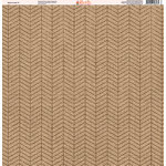 Ella and Viv Paper Company - Aztec Linen Collection - 12 x 12 Paper - One