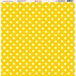 Ella and Viv Paper Company - Magical Dots and Damask Collection - 12 x 12 Paper - Two