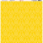 Ella and Viv Paper Company - Magical Dots and Damask Collection - 12 x 12 Paper - Six