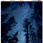 Ella and Viv Paper Company - Galaxy Collection - 12 x 12 Paper - Nighttime Sky