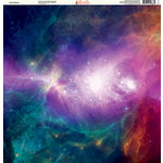 Ella and Viv Paper Company - Galaxy Collection - 12 x 12 Paper - Outer Space