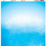Ella and Viv Paper Company - H2O Collection - 12 x 12 Paper - Water Drops