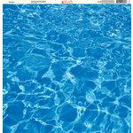 Ella and Viv Paper Company - H2O Collection - 12 x 12 Paper - The Pool