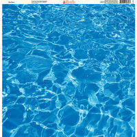 Ella and Viv Paper Company - H2O Collection - 12 x 12 Paper - The Pool