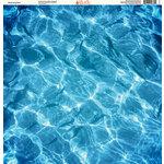 Ella and Viv Paper Company - H2O Collection - 12 x 12 Paper - Swimming Pool