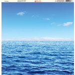 Ella and Viv Paper Company - H2O Collection - 12 x 12 Paper - The Ocean