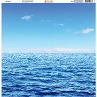 Ella and Viv Paper Company - H2O Collection - 12 x 12 Paper - The Ocean