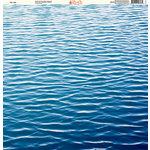 Ella and Viv Paper Company - H2O Collection - 12 x 12 Paper - The Lake