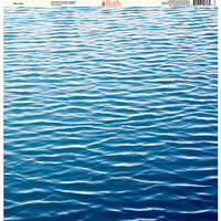 Ella and Viv Paper Company - H2O Collection - 12 x 12 Paper - The Lake