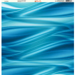 Ella and Viv Paper Company - H2O Collection - 12 x 12 Paper - Cool Water
