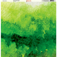 Ella and Viv Paper Company - The Great Outdoors Collection - 12 x 12 Paper - Outdoor Green