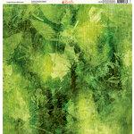Ella and Viv Paper Company - Watercolor Dreams Collection - 12 x 12 Paper - Jungle Flowers Watercolor