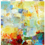Ella and Viv Paper Company - Painted Collection - 12 x 12 Paper - Impressions Watercolor