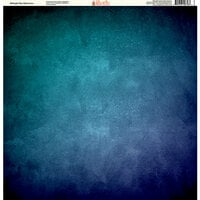 Ella and Viv Paper Company - Painted Collection - 12 x 12 Paper - Midnight Sky Watercolor