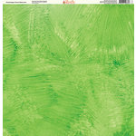 Ella and Viv Paper Company - Painted Collection - 12 x 12 Paper - Grasshopper Green Watercolor