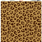 Ella and Viv Paper Company - Safari Collection - 12 x 12 Paper - Persian Leopard