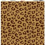 Ella and Viv Paper Company - Safari Collection - 12 x 12 Paper - Persian Leopard
