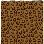 Ella and Viv Paper Company - Safari Collection - 12 x 12 Paper - Leopard