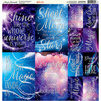 Ella and Viv Paper Company - Magic Moments Collection - 12 x 12 Cardstock Stickers - Poster