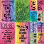 Ella and Viv Paper Company - Family Time Collection - 12 x 12 Cardstock Stickers - Poster