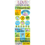 Ella and Viv Paper Company - Love Grows Here Collection - Cardstock Stickers - Combo