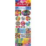 Ella and Viv Paper Company - Be Yourself Collection - Cardstock Stickers - Combo