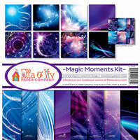 Ella and Viv Paper Company - Magic Moments Collection - 12 x 12 Kit