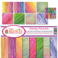 Ella and Viv Paper Company - Family Time Collection - 12 x 12 Kit
