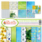 Ella and Viv Paper Company - Love Grows Here Collection - 12 x 12 Kit