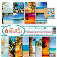 Ella and Viv Paper Company - Just Beachy Collection - 12 x 12 Kit