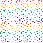 Ella and Viv Paper Company - Watercolor Party Collection - 12 x 12 Paper - Watercolor Dots