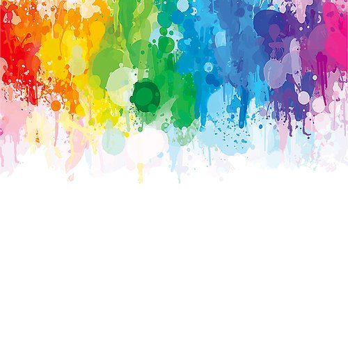 Ella and Viv Paper Company - Watercolor Party Collection - 12 x 12 Paper - Watercolor Party Splash