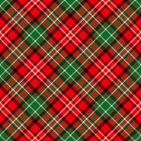Ella and Viv Paper Company - Perfectly Plaid Collection - 12 x 12 Paper - Christmas Tartan