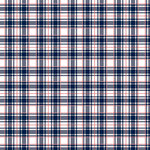Ella and Viv Paper Company - Perfectly Plaid Collection - 12 x 12 Paper - All American Plaid